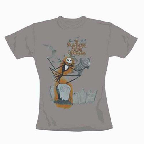 Nightmare Before Christmas - Girl Shirt Jack