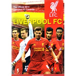 Liverpool 2014 Calendar from Official Football Merchandise