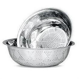 Kitchen Tool Stainless Steel Perforated Colander front-877992