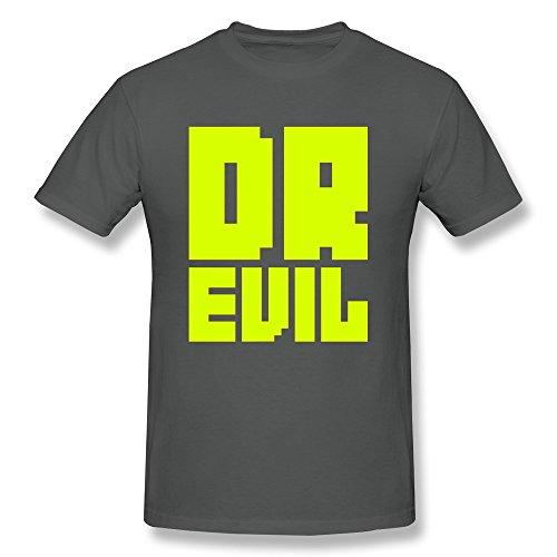 Design Your Own Dr Evil Geek Round Neck Man Tshirt front-1049241