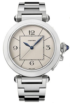 Cartier Men's W31072M7 Pasha Stainless Steel Automatic Watch