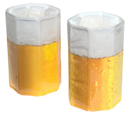 Vacu Vin Rapid Ice Beer Chiller, set of two