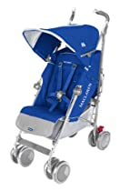 Maclaren Techno Stroller XT Stroller Turkish Blue/Silver Frame