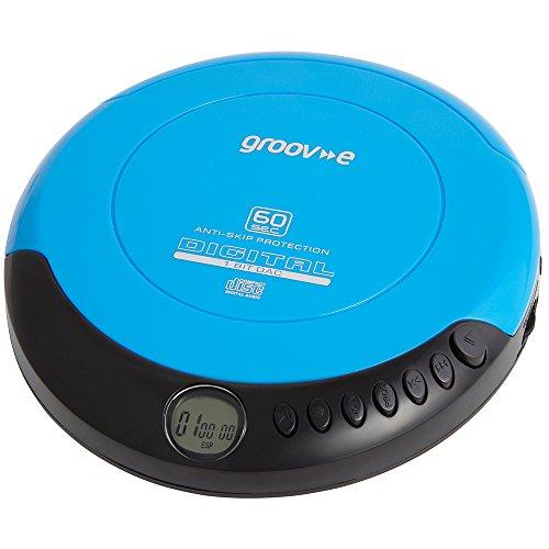 Groov-e GVPS110BE Série Rétro Numérique Portable Lecteur CD Walkman Neuf