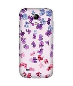 Flower Spread Out Samsung Galaxy S4 Mini Case