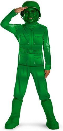Green Army Man Costume - X-Small front-982291