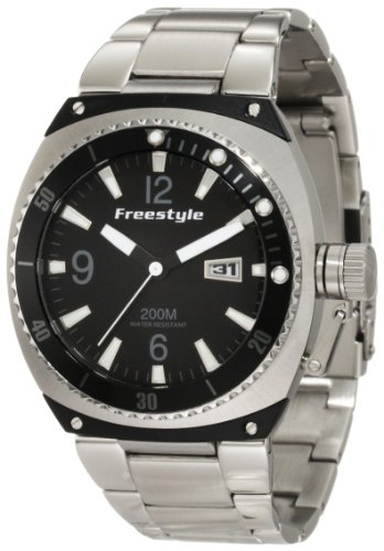 Freestyle Men'S 101160 Trench Luminous Hand/Markers Bracelet Watch