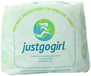 Just Go Girl Athletic Leak Pad, 10 Count