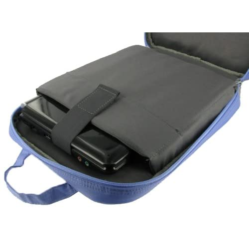 Dell Inspiron Mini 10 IM10 USE012AM Netbook Messenger / Backpack Multi Functional Carrying Bag   Blue
