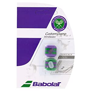Buy Custom Damp Wimbledon 2 Pack Tennis Dampeners by Babolat