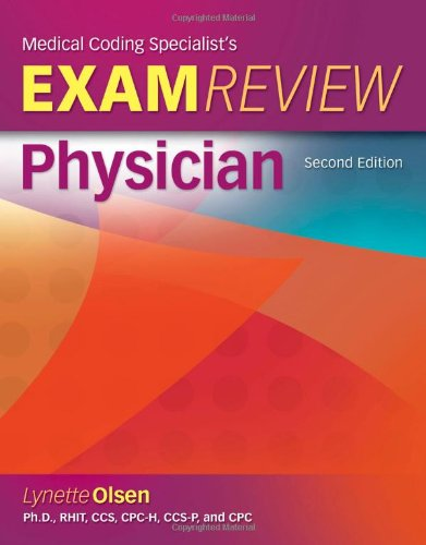 Medical Coding Specialists's Exam Review-Physician