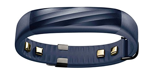 UP3 by Jawbone Heart Rate Activity Sleep Tracker Indigo Twist Blue