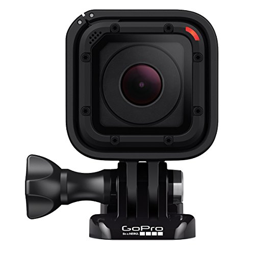 GoPro HERO Session - Videocámara deportiva de 8 MP (WiFi, submergible, 1030 mAh), color negro