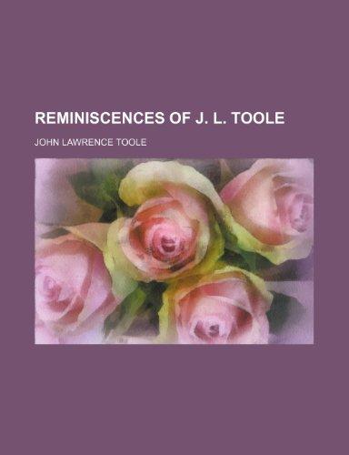 Reminiscences of J. L. Toole (Volume 2)