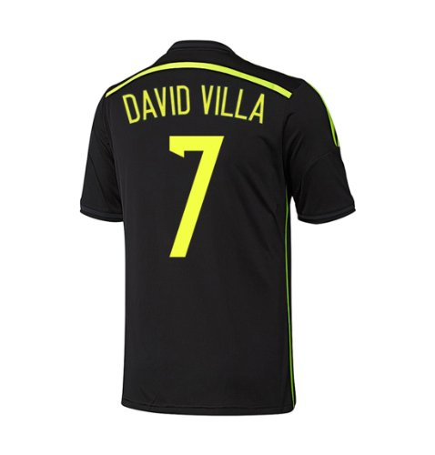 Adidas DAVID VILLA #7 Spain Away Jersey World Cup 2014 YOUTH (YL)