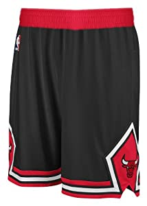 Chicago Bulls Black Adidas Swingman Revolution 30 Shorts (L)