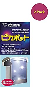 Zojirushi #CD-K03EJU Inner Container Cleaner for Electric Pots, 4 Packets by Zojirushi