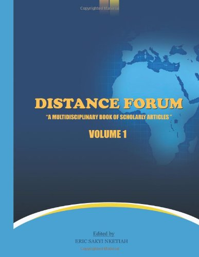 Distance Forum: A Multidisciplinary Book of Scholarly Articles