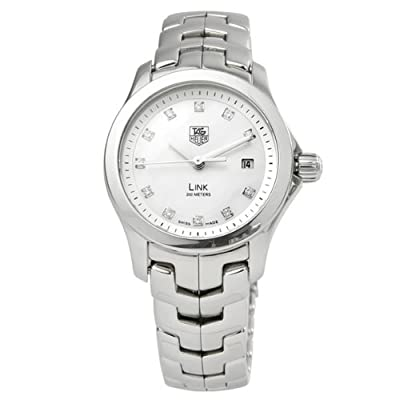 TAG Heuer Women's WJF1317.BA0572 Link Diamond Accented Watch by TAG Heuer