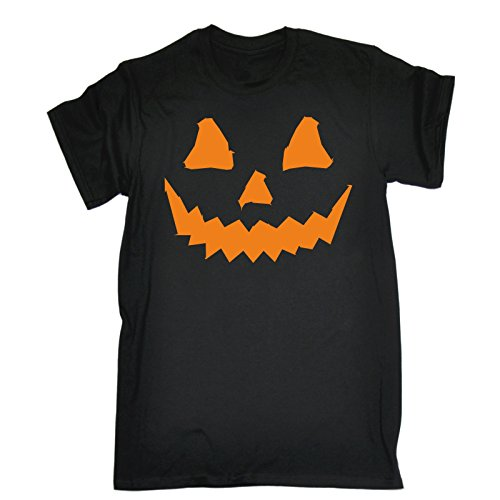 Fonfella Men's HALLOWEEN PUMPKIN (XXL - BLACK)