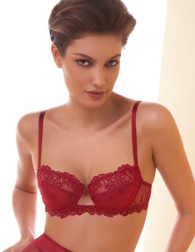 Lise Charmel Charm Eros Red Balconette Bra ACA3098 32B UK/32B US/70B EU/85B FR (in stock)