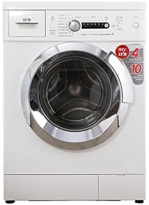 IFB Elena Aqua Steam VX Fully Automatic Front-loading Washer (6 Kg, Silver)