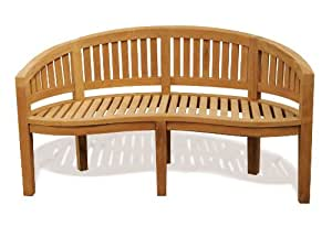 Teak Banana Bench - Jati Brand, Quality & Value