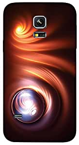 Timpax protective Armor Hard Bumper Back Case Cover. Multicolor printed on 3 Dimensional case with latest & finest graphic design art. Compatible with only Samsung Galaxy S5 mini. Design No :TDZ-20462