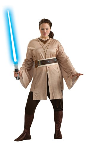 Rubie's Costume Women's Plus-Size Star Wars Adult Plus Jedi Knight
