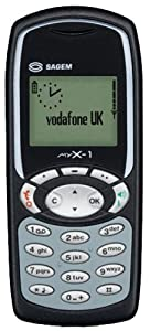Sagem myX-1 - Vodafone - Pay As You Go Mobile Phone
