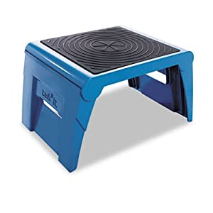 Cra50051pk63 - Folding Step Stool 14x11-14x9-12 Blue by Cramer