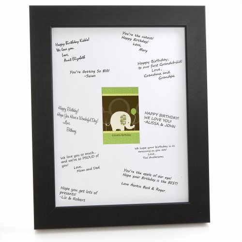 Elephant - Framed Print With Signature Mat front-142053