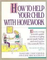 how to help your child with homework schumm
