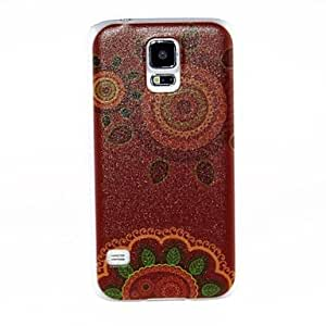 Kinston Plants Sunshine Pattern Plastic Hard Case for Samsung Galaxy S5
