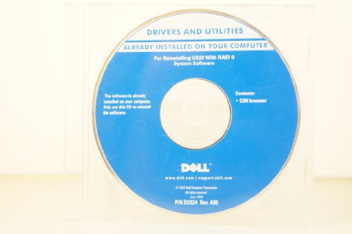 Dell Drivers And Utilities Reinstalling U320
