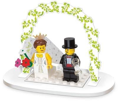 レゴ ミニフィグ ウェディング・ファイバー(結婚式のギフト) / LEGO Minifigure Wedding Favors Set 853340 [国内正規品] For table decoration only