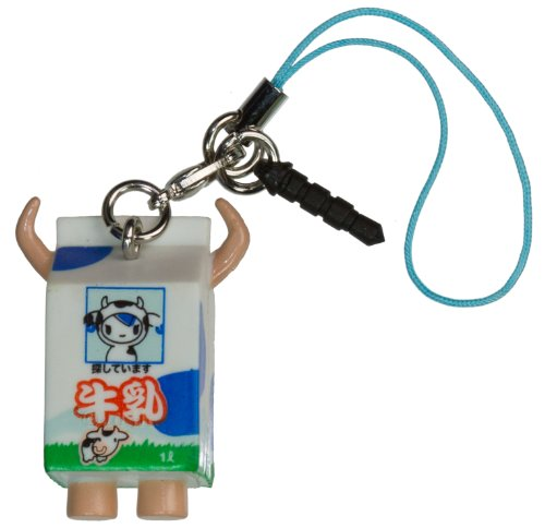 "Gyunyuu ~1.5"" Mini-Figure - Tokidoki Frenzies Clip + Phonezie Charm"