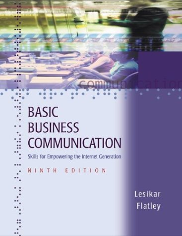 Basic Business Communication: Skills for Empowering the Internet Generation with Student CD-ROM/PowerWeb, and BComm Skil