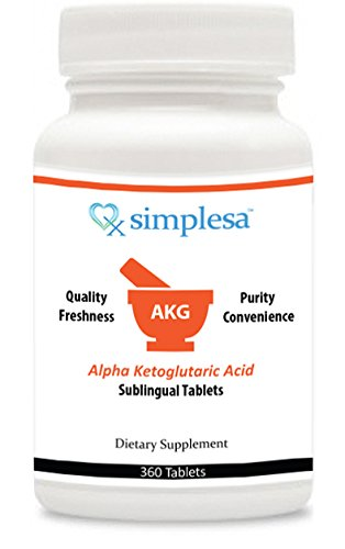 Akg (Alpha-Ketoglutaric Acid) Sublingual Tablets