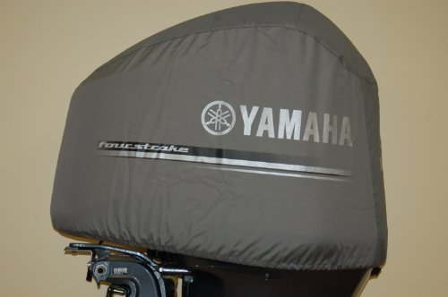 Oem yamaha heavy duty 4 2l offshore outboard motor cover for Yamaha boat cover