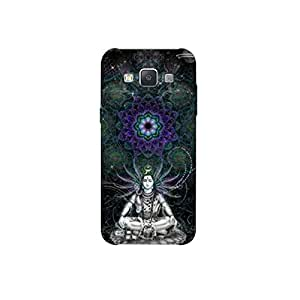 SAMSUNG GALAXY A-8 nkt11_R (3) Mobile Case by Mott2 - Lord Shiva in Meditation