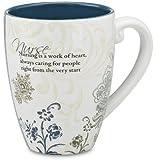 Mark My Words Nurse Mug, 4-3/4-Inch, 17-Ounce Capacity