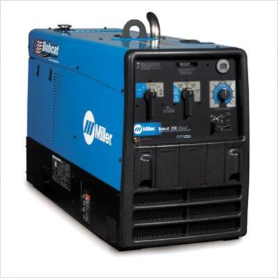 250 Diesel Welder/Generator With 19Hp Kubota Engine, Battery Charger And Gfci Receptacles, 10500 Watts Peak, 250 Amp