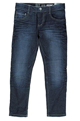 Lemmi Jungen Skinny Hose Jeans Tight fit BIG, Gr. 176, Blau (dark blue denim|blue 0012)