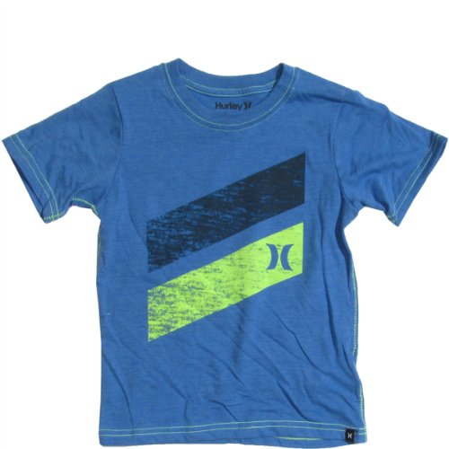 Hurley Baby Shirt Icon Slash (12-24M) Ultramarine Heather, 12 Months