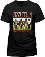 Live Nation Men's Led Zeppelin - Knebworth Crew Neck Short Sleeve T-Shirt