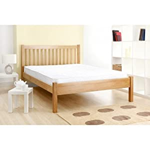 3&' 0  Single Oak Shaker Wooden Bed       review and more information