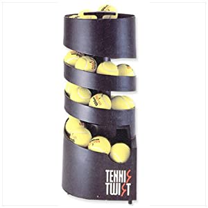 Tennis Battery Twist Ball Machine - Battery Powered Model