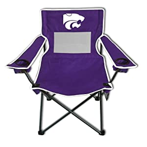Buy NCAA Kansas State Wildcats Monster Mesh Folding Chair by Rivalry