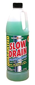 Scotch Corporation Slow Drain Liquid Build Up Remover for Drains 1 Litre